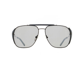 Red Bull SPECT Pikespeak Lunettes de soleil Homme, black/smoke-silver flash